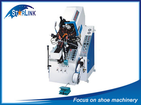 Automatic Cement Toe Lasting Machine, SLM-3-03