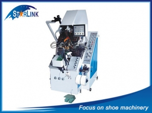 9 Pincer Cement Toe Lasting Machine, SLM-3-03