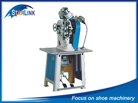 Automatic Double Side Eyeleting Machine, SLM-2-06