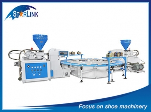 Double Color PVCTPR Sole Injection Machine, SLM-6-04
