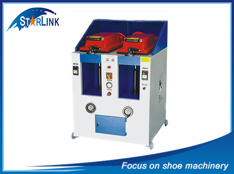 Double Unit Manual Cover Type Sole Attaching Machine, SLM-4-05