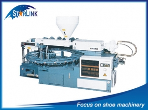 Rotary Type Single Color PVC TPR Sole Injection Machine, SLM-6-03