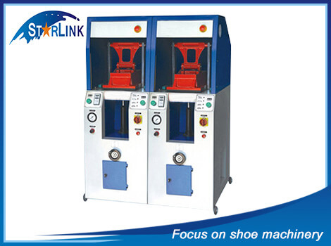 Double Unit Universal Cover Type Sole Attaching Machine, SLM-4-05