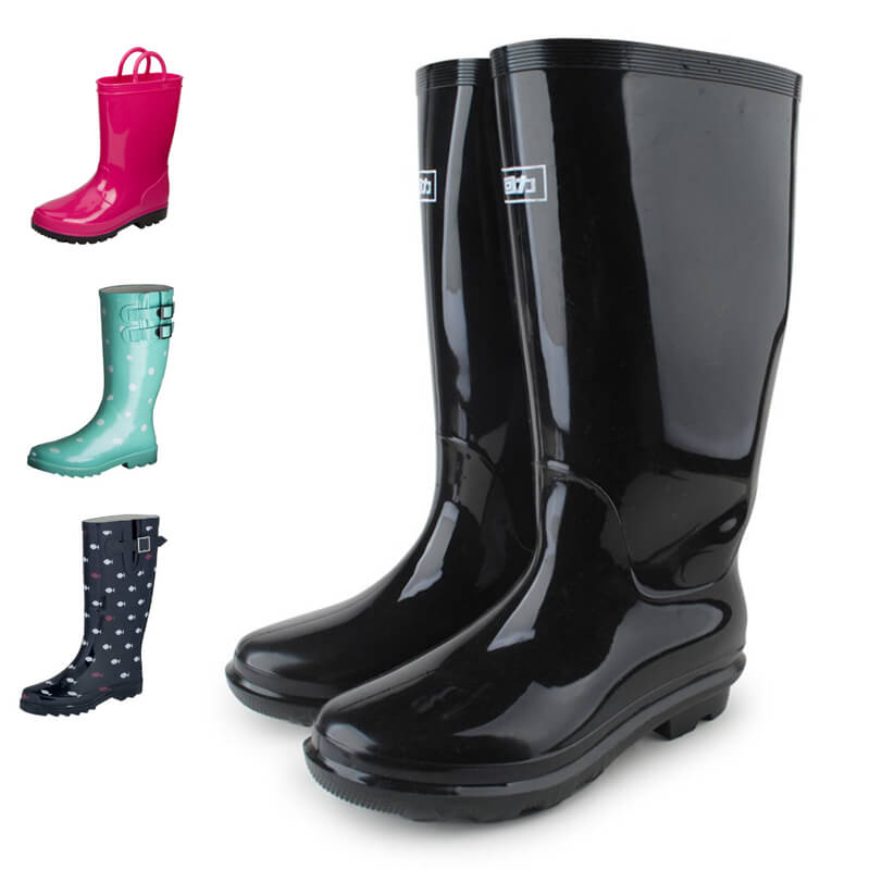 Rain Boots Making