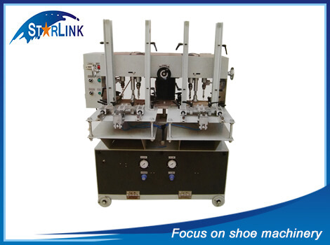 Automatic Sole Drilling Machine for EVA Flip-Flop Making, SLM-8-04