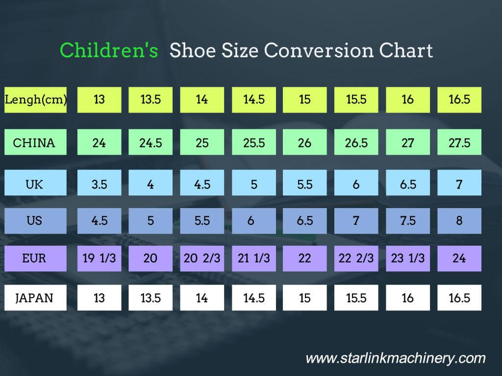 Japanese Shoe Size To Us