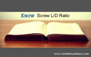 screw L-D ratio